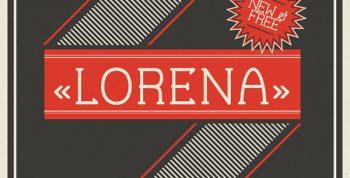 Lorena Free Font - serif, decorative