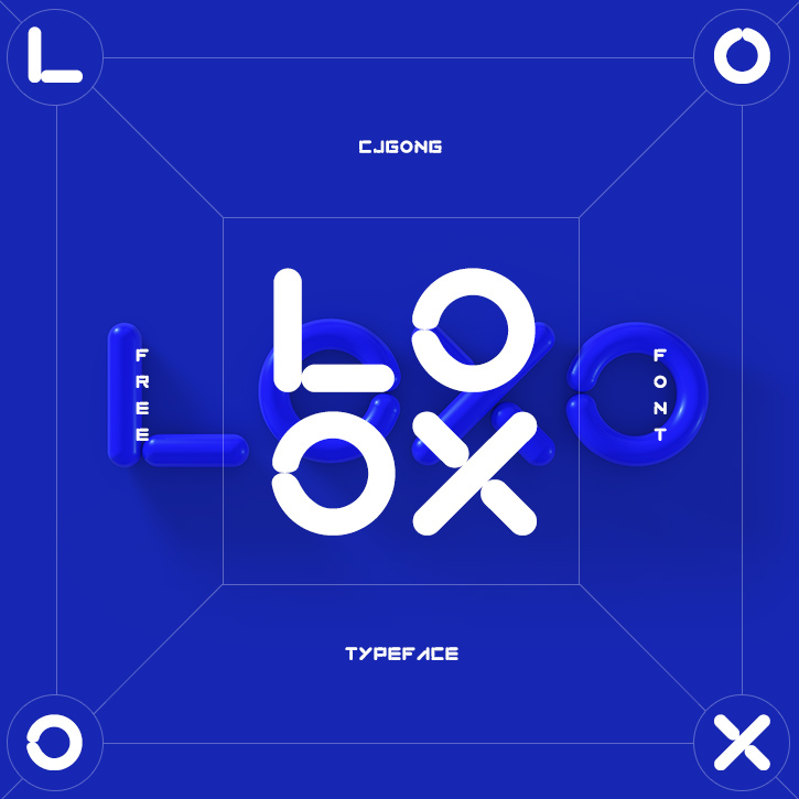 LOXO Free Font - decorative-display