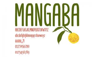 Mangaba Free Font - sans-serif