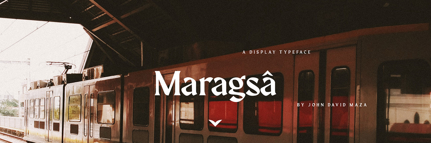 Maragsâ Free Font - decorative-display