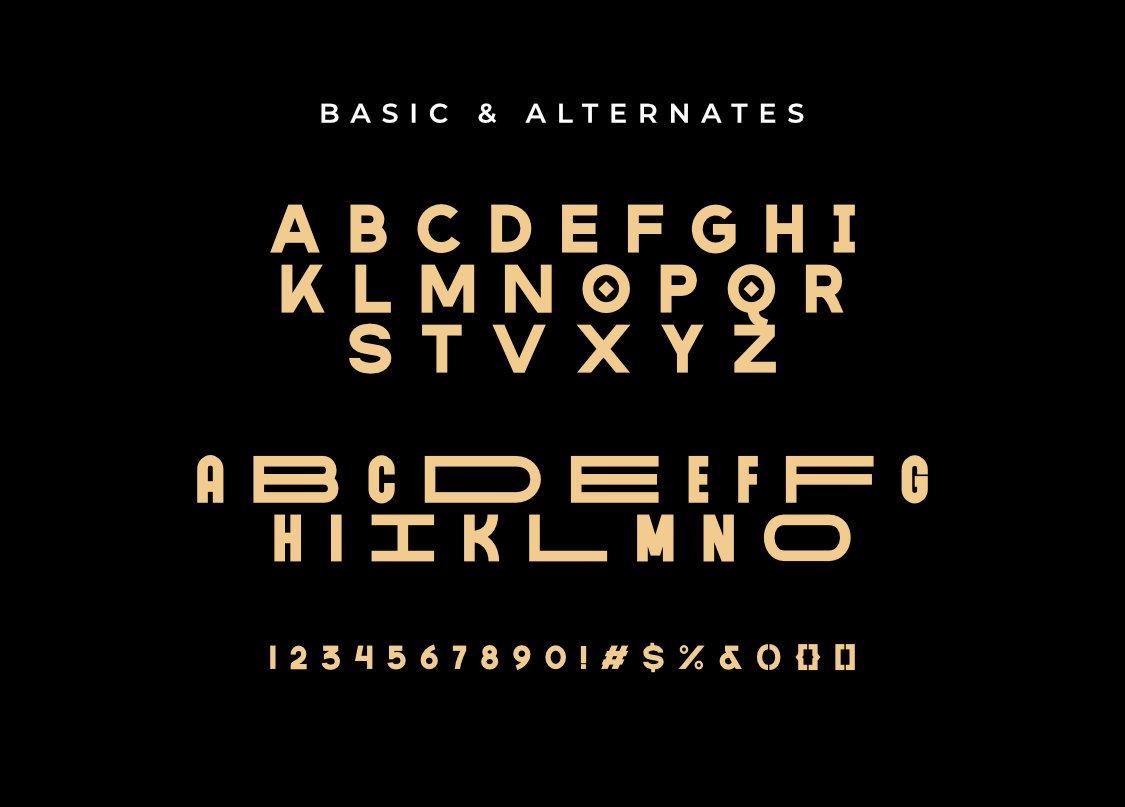 MARINFORD Free Font - decorative-display