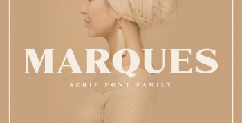 Marques Free Serif Font Family - serif