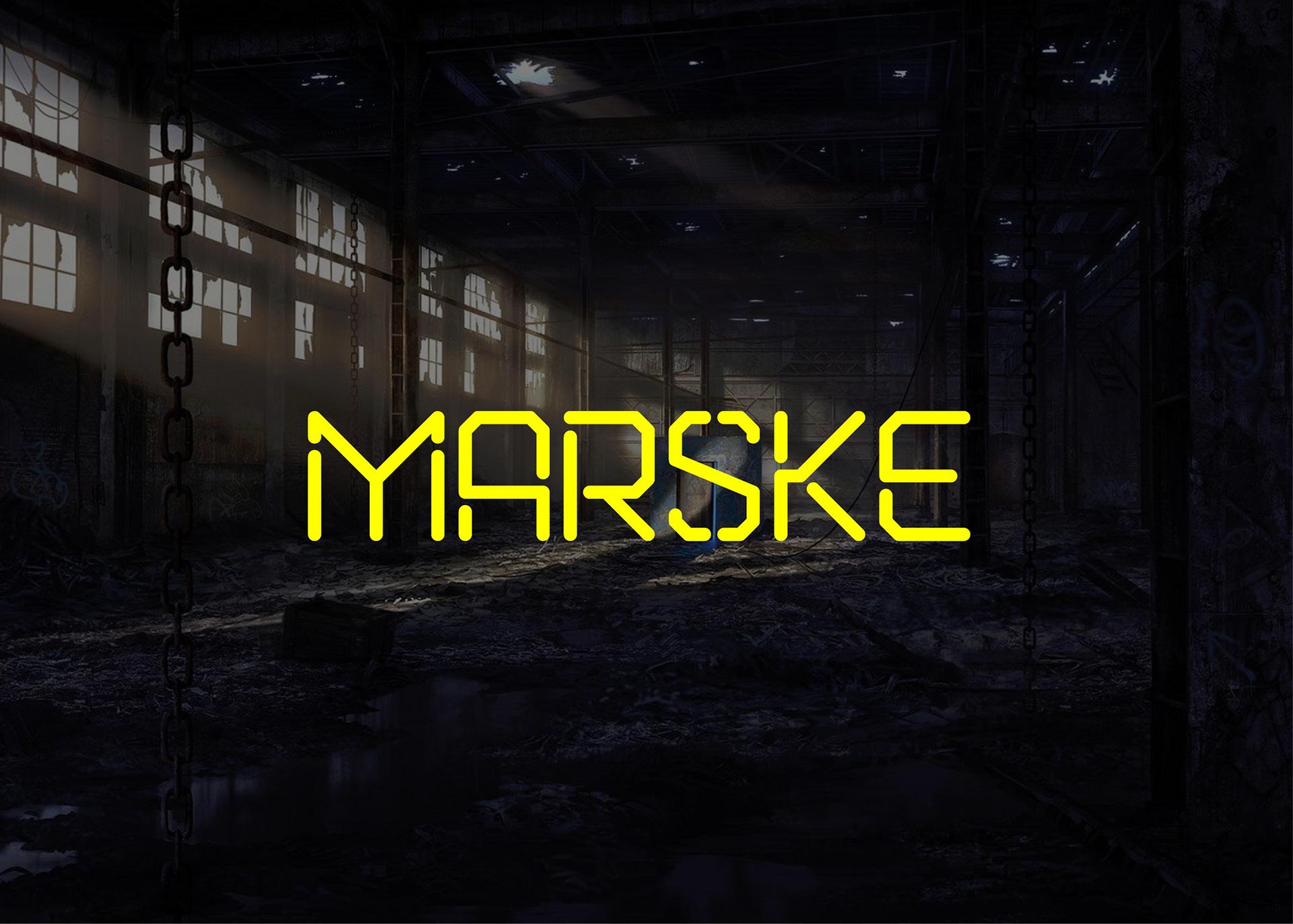 Marske Free Font - sans-serif