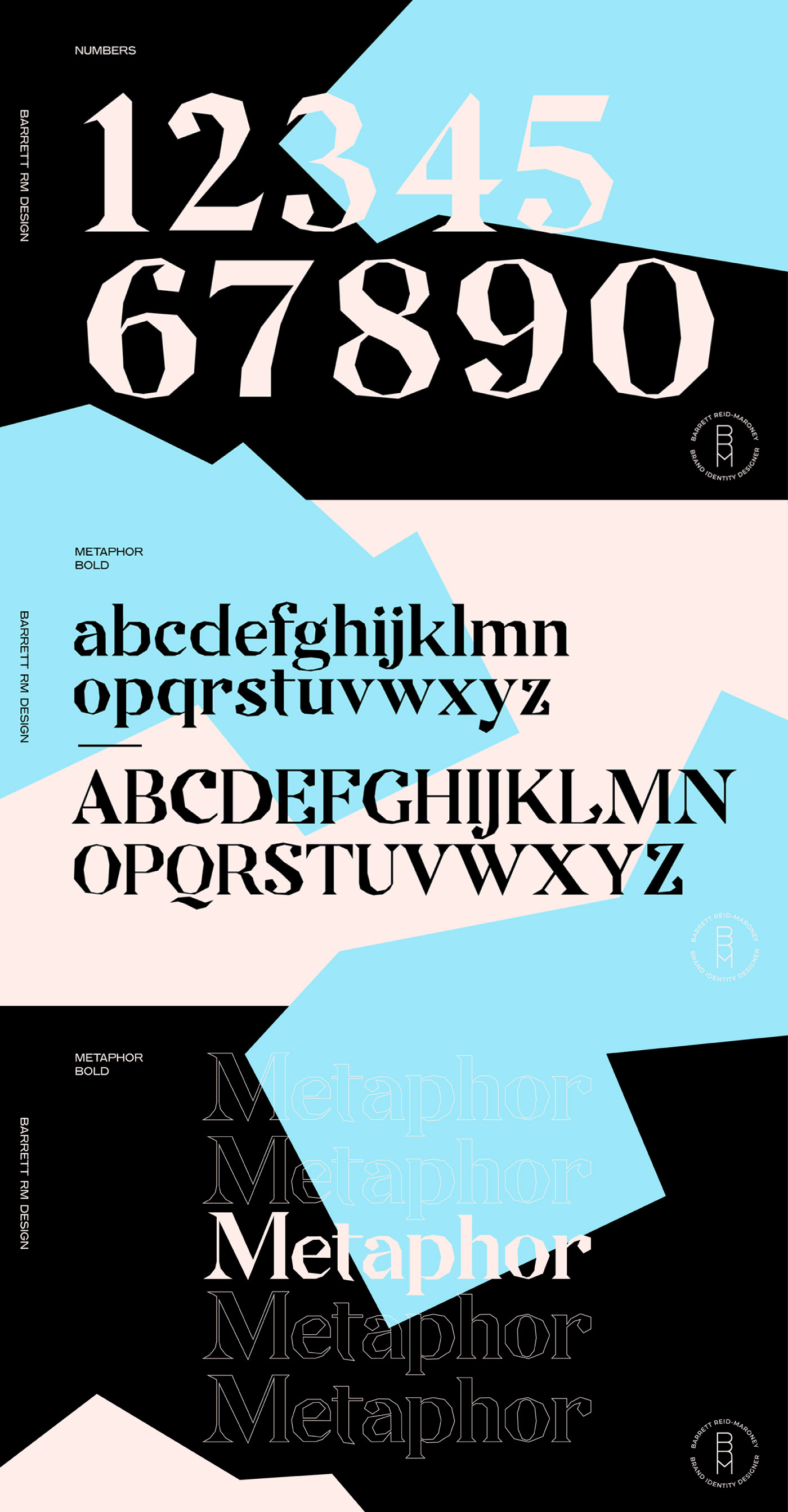 METAPHOR Free Font - serif