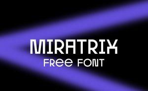 Miratrix Free Font - sans-serif, cyrillic