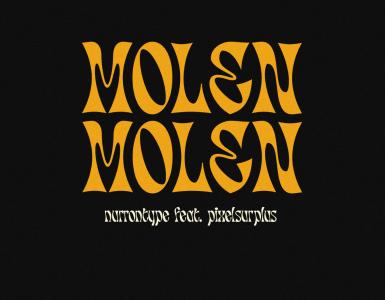 Molen Free Font - decorative-display