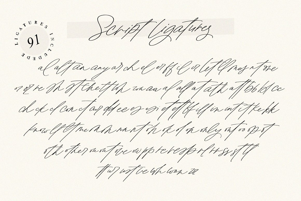 Monologues Free Font - script, sans-serif
