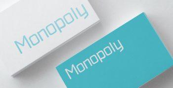 Monopoly Free Font - sans-serif