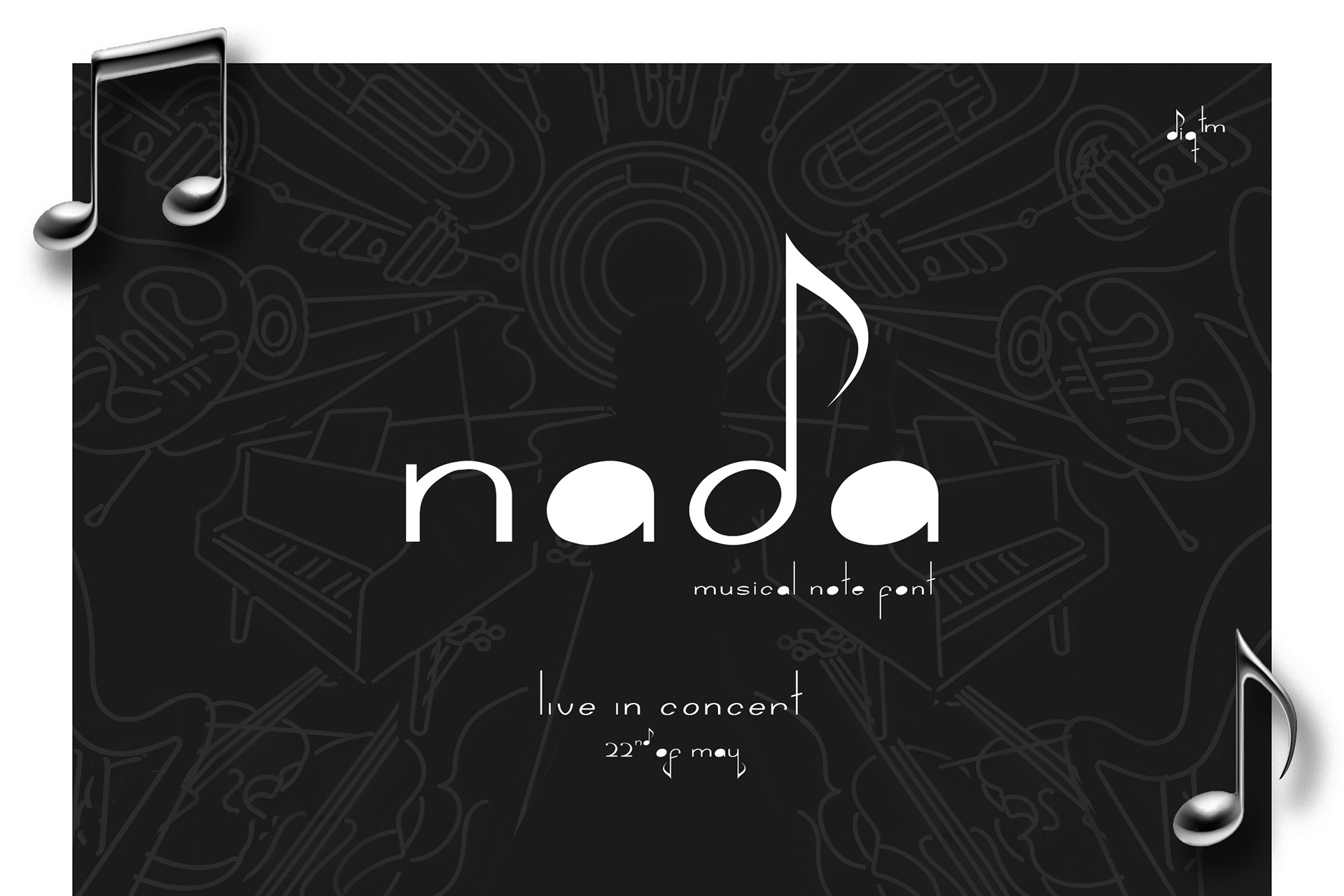 Nada Free Display Font - decorative-display