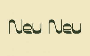 Neu Neu Free Font - decorative