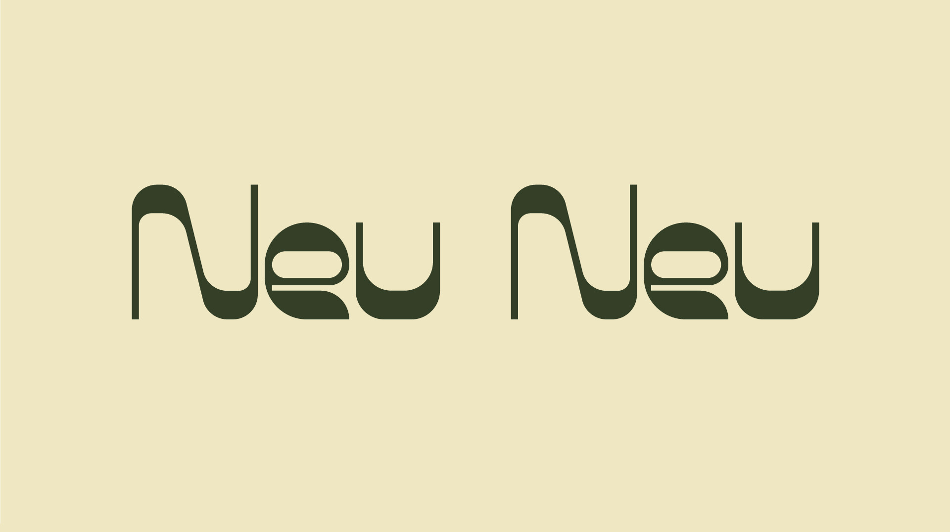 Neu Neu Free Font - decorative-display
