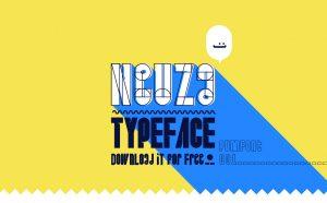 Neuza Typeface Free Font - decorative