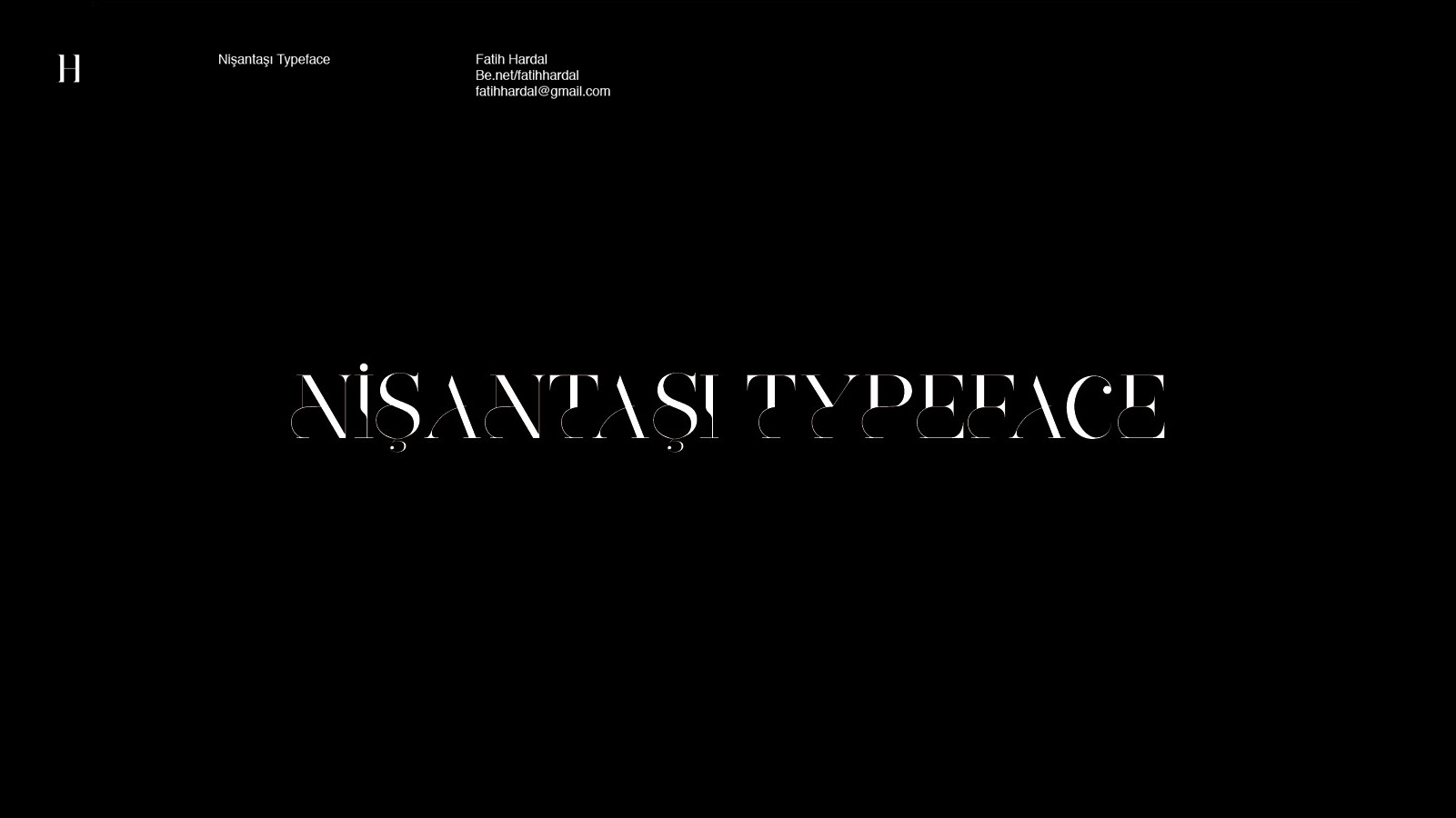 Nişantaşı Free Typeface - decorative-display