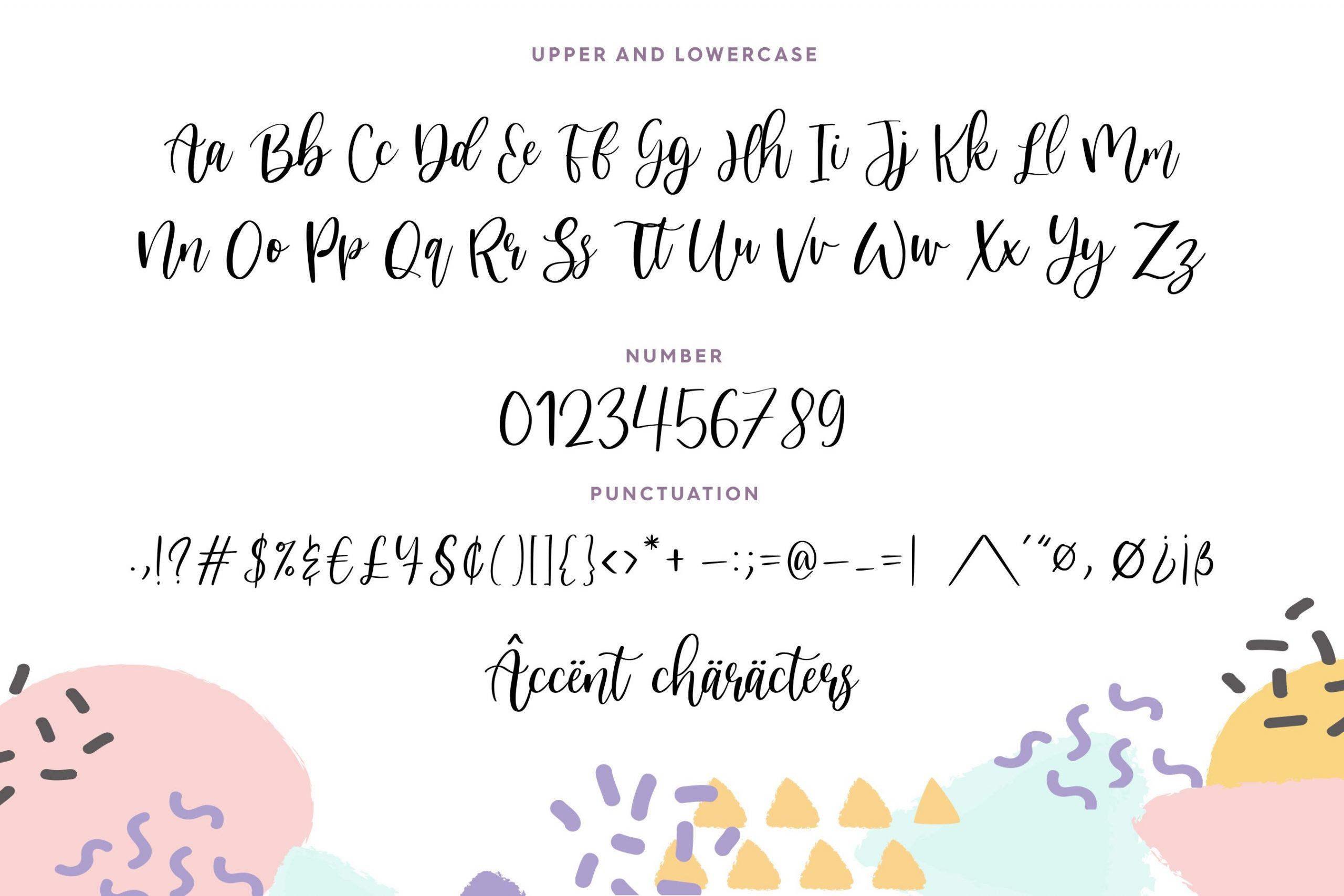 Nicholia Free Font - script