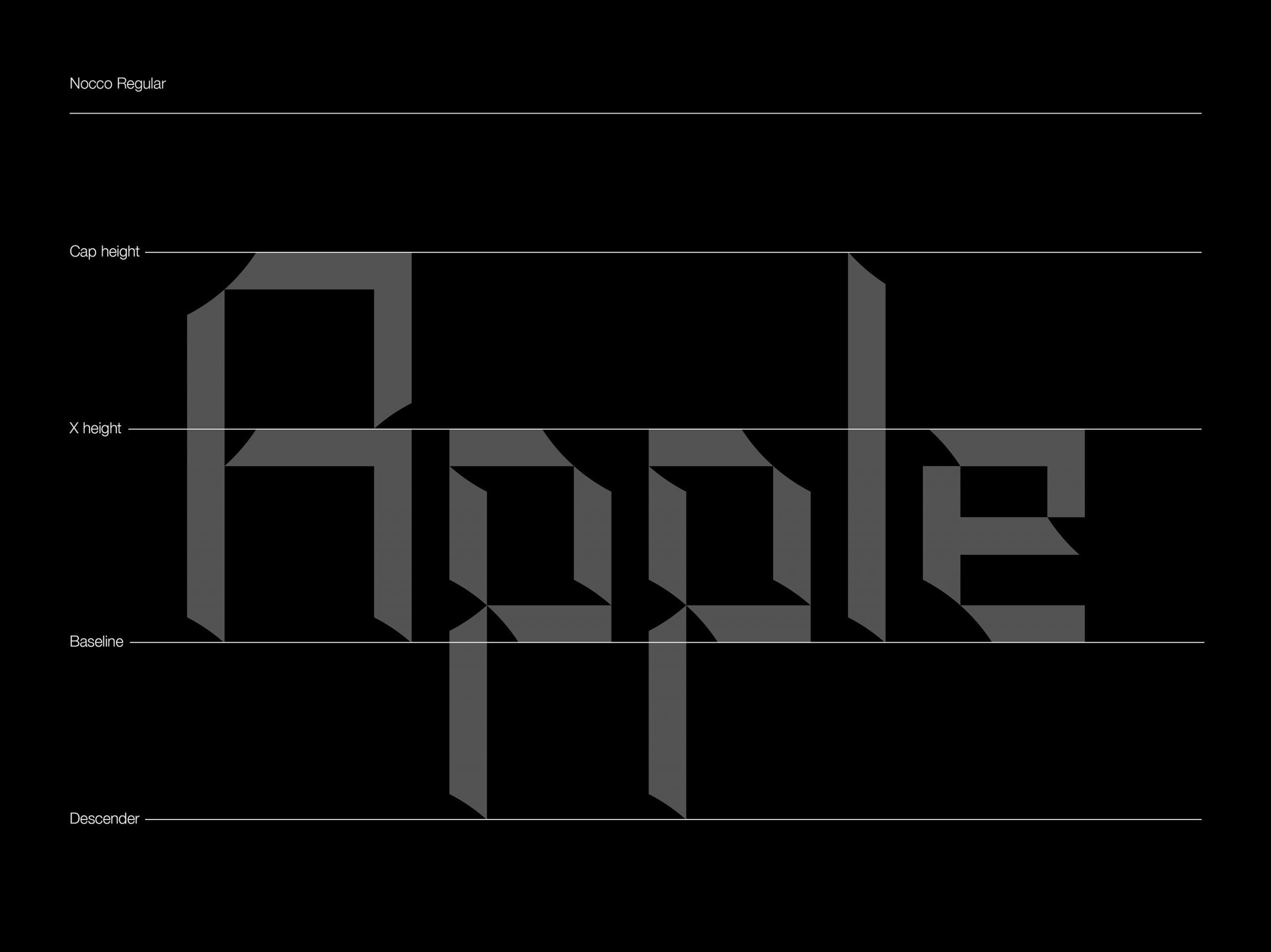 NOCCO Free Font - decorative-display