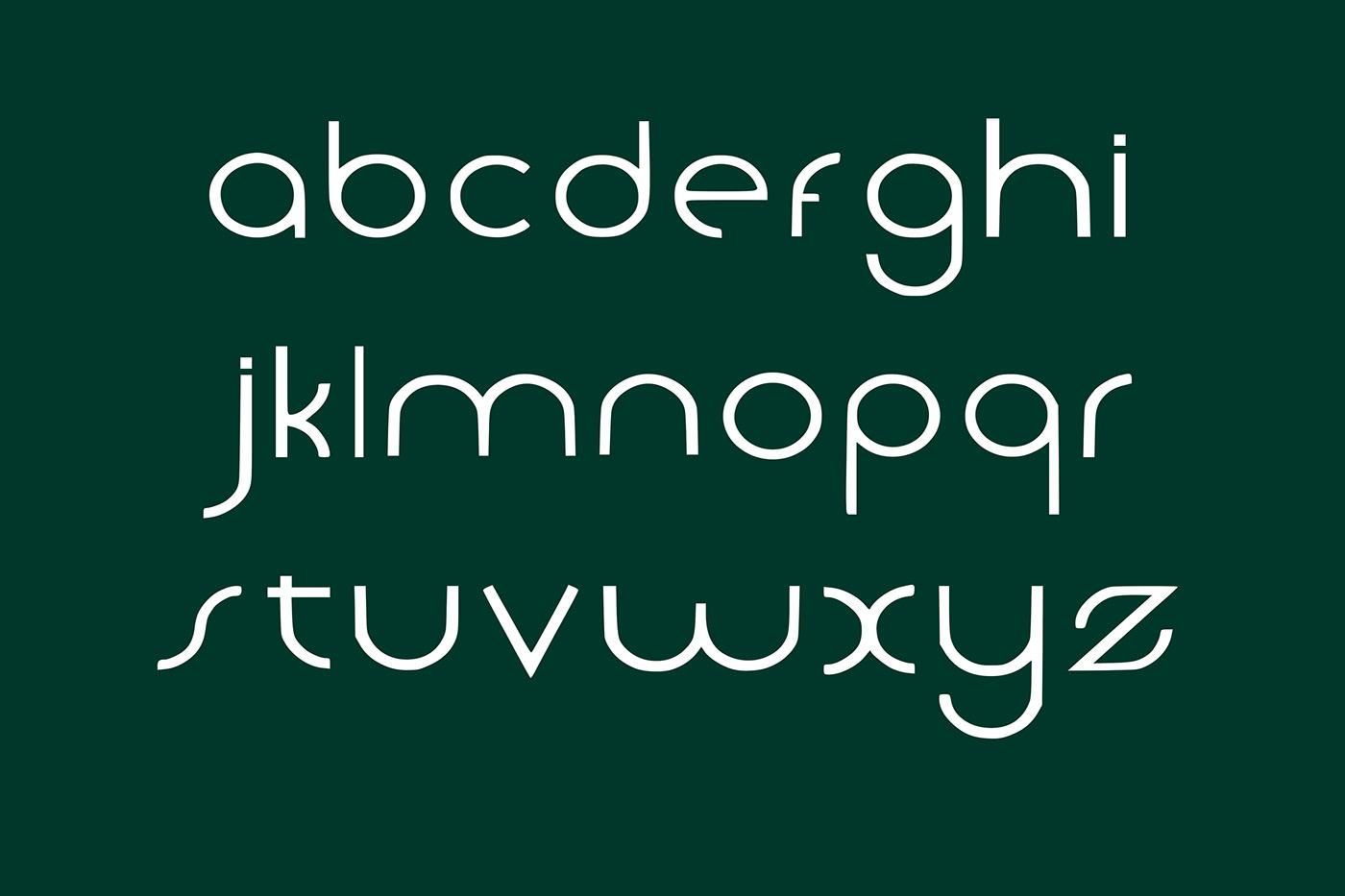 Noga Free Font - sans-serif