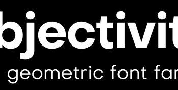 Objectivity Free Font Family - sans-serif