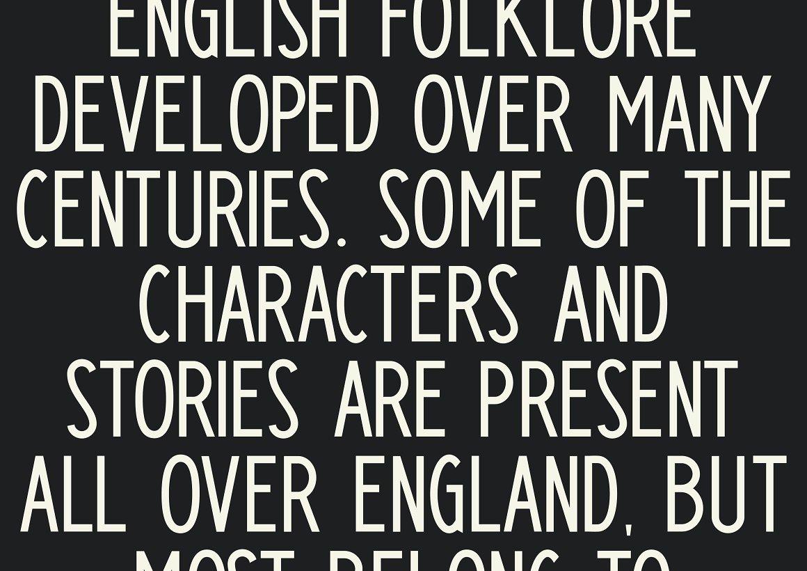 Paddington Free Font - sans-serif