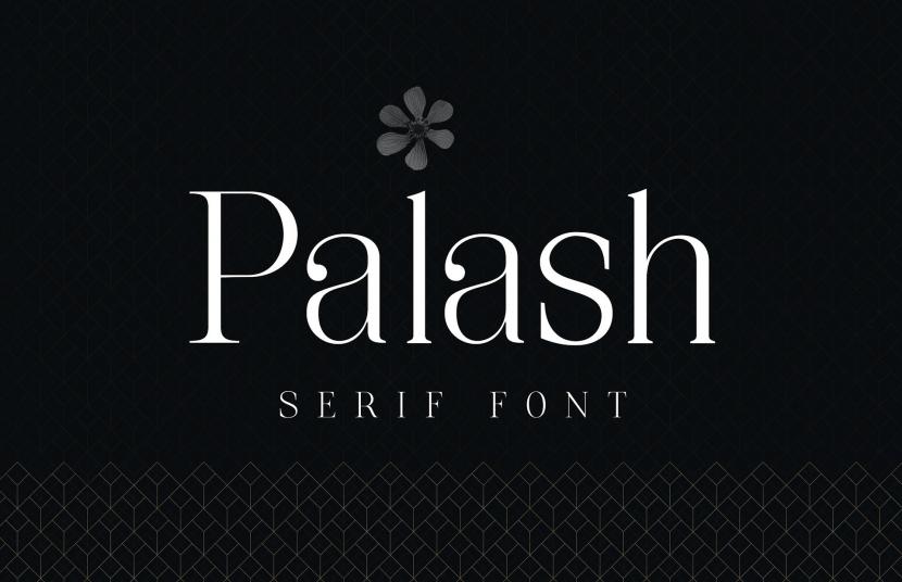 Palash Free Font - serif