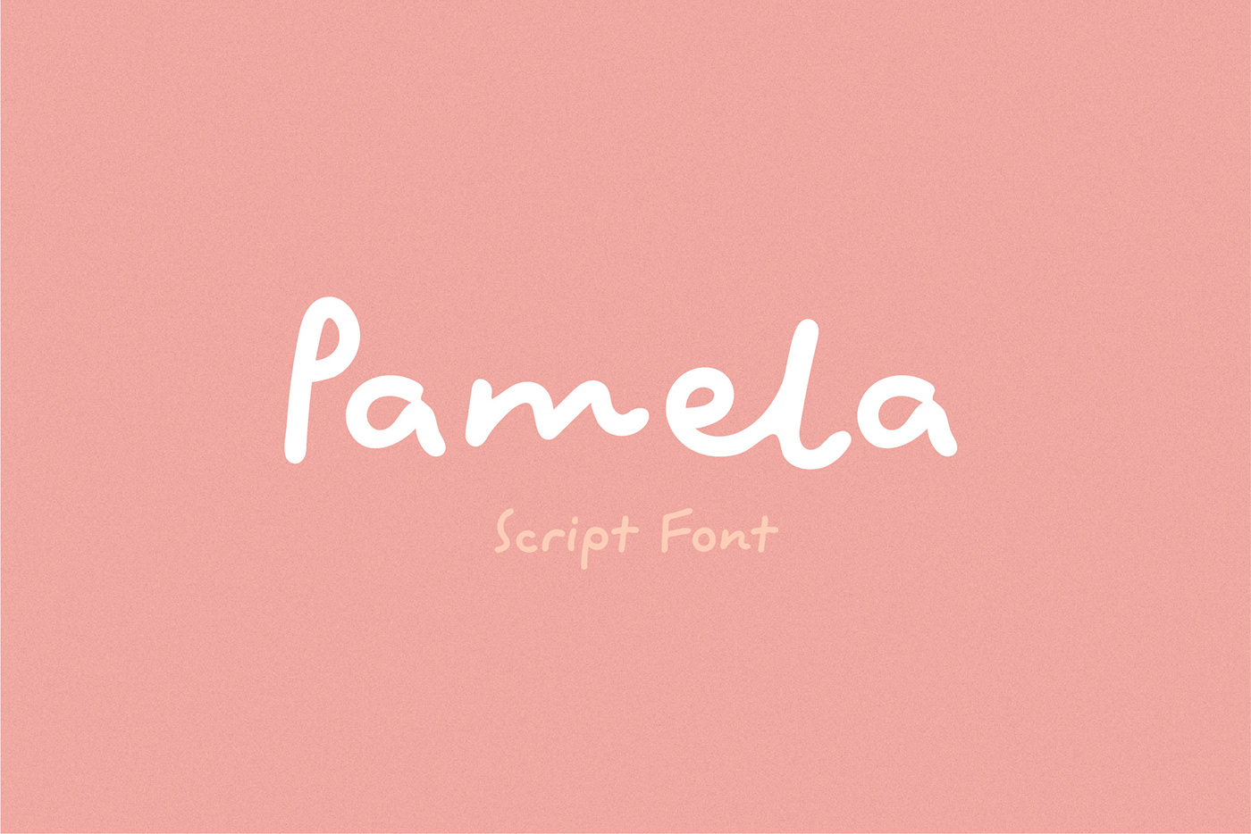 Pamela Free Font - script