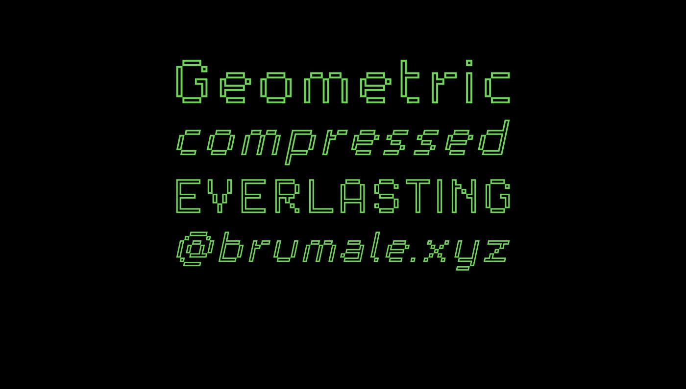 PARTITA Free Font - bitmap-fonts