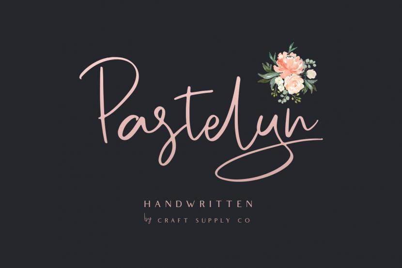 Pastelyn Free Font - script