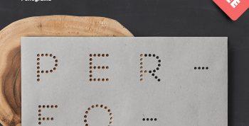 Perfograma Free Font - sans-serif, decorative