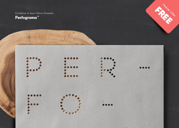 Perfograma Free Font - sans-serif, decorative-display
