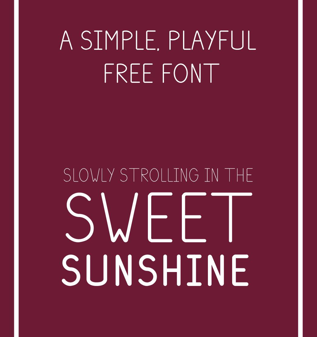 Plum Free Font - sans-serif
