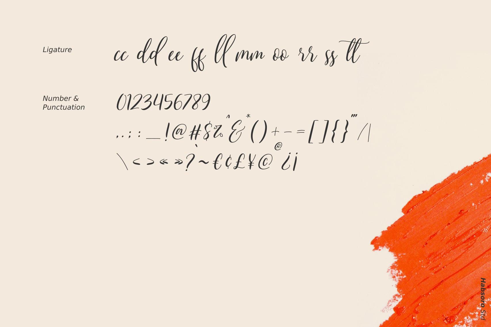 Qristalla Free Font - script