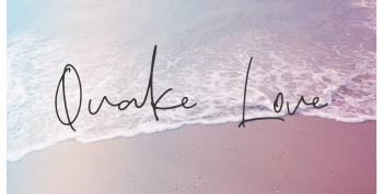 QUAKE LOVE Free Font - script