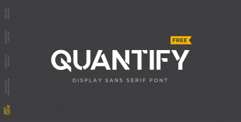 Quantify Free Font -