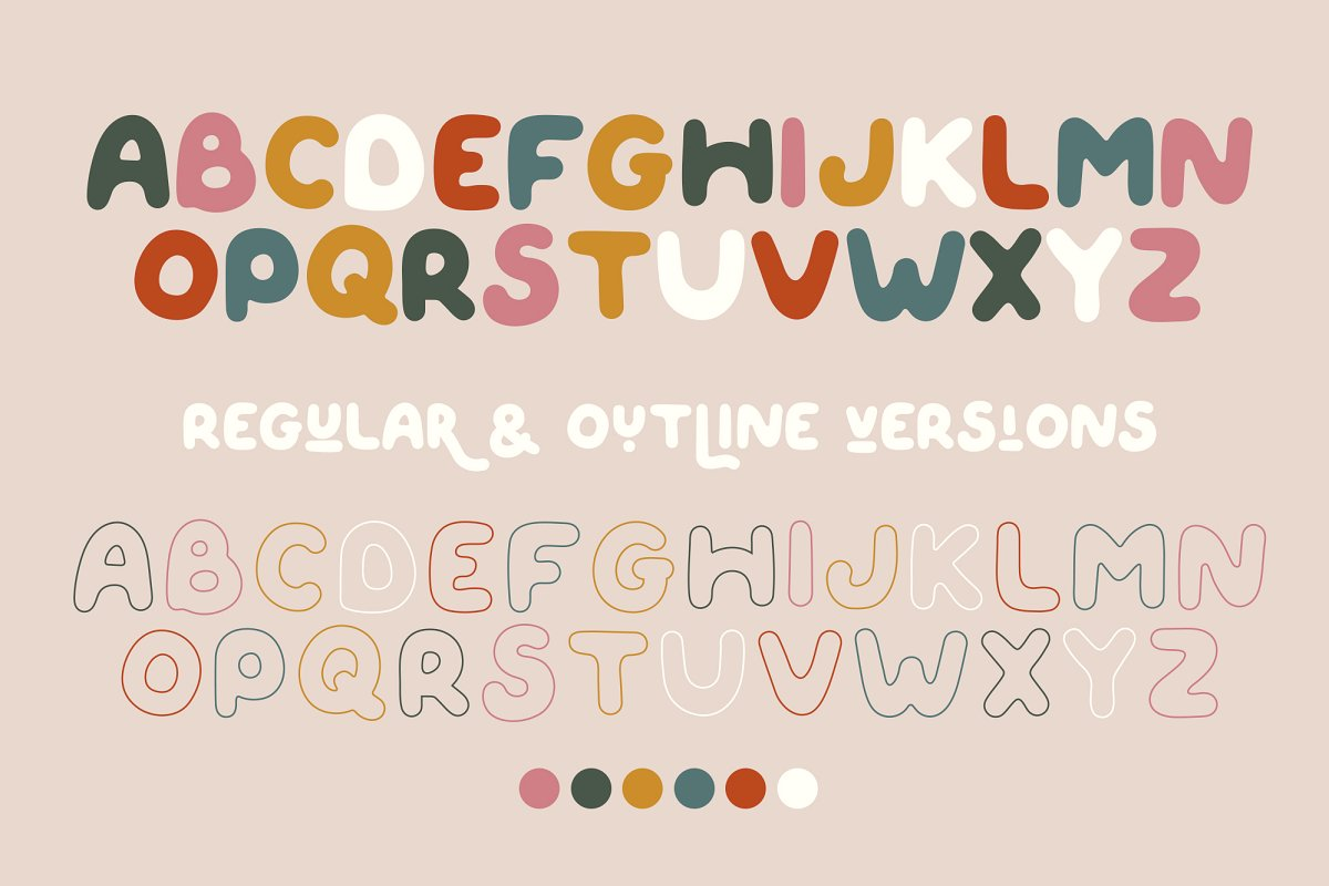 QUIRKY SPRING Free Font - decorative-display