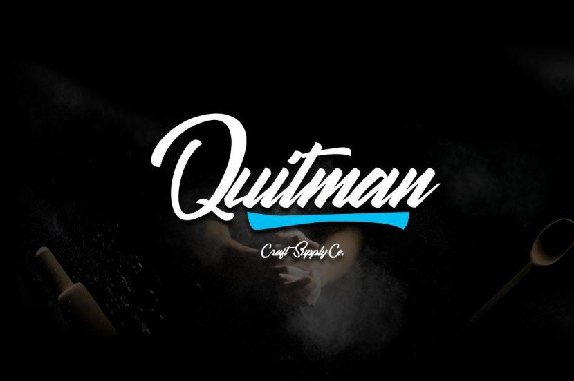Quitman Free Script Font - script