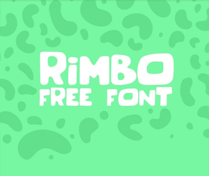 RIMBO Free Font - script