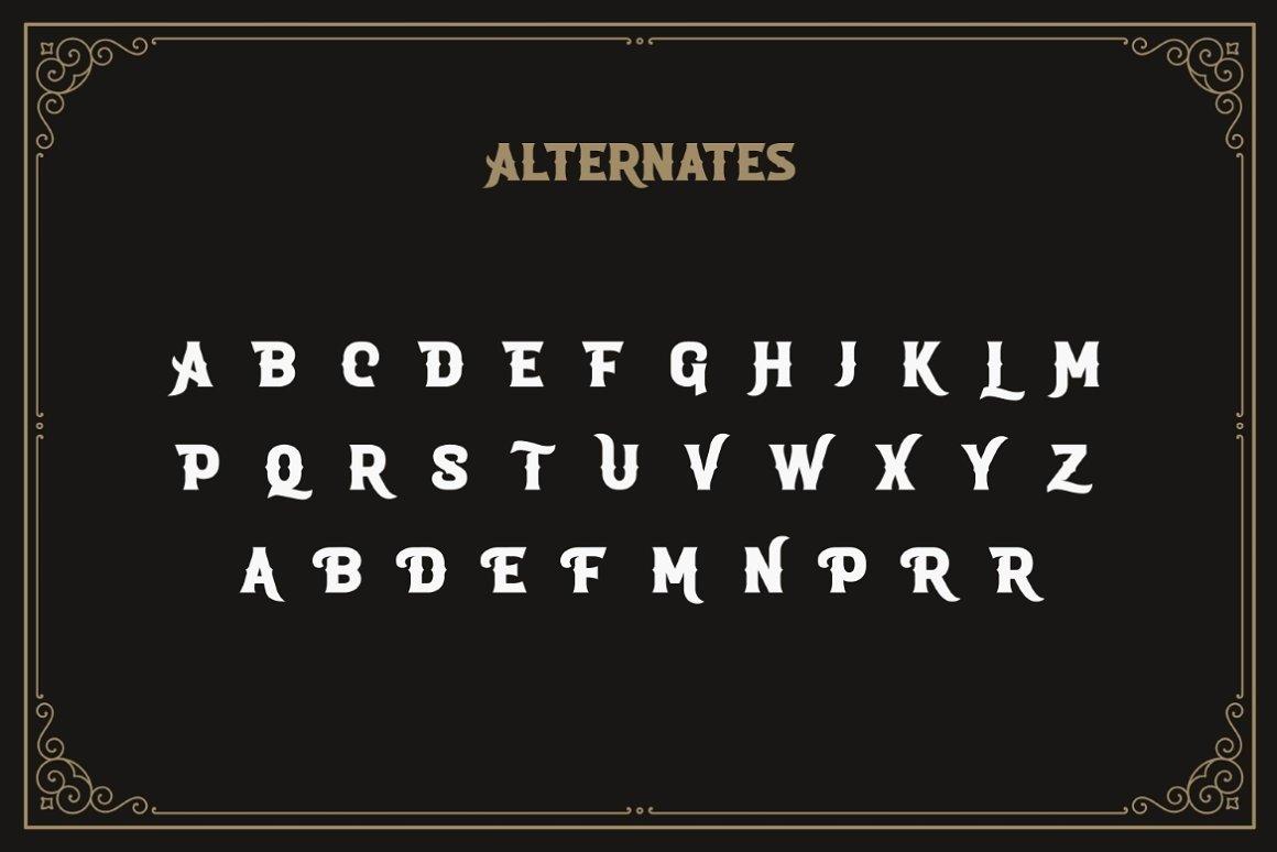 ROADSTORE Free Font - decorative-display