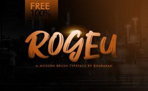 Rogeu Free Font -