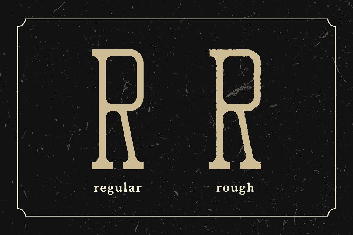 Rustica Slab Free Font - slab-serif