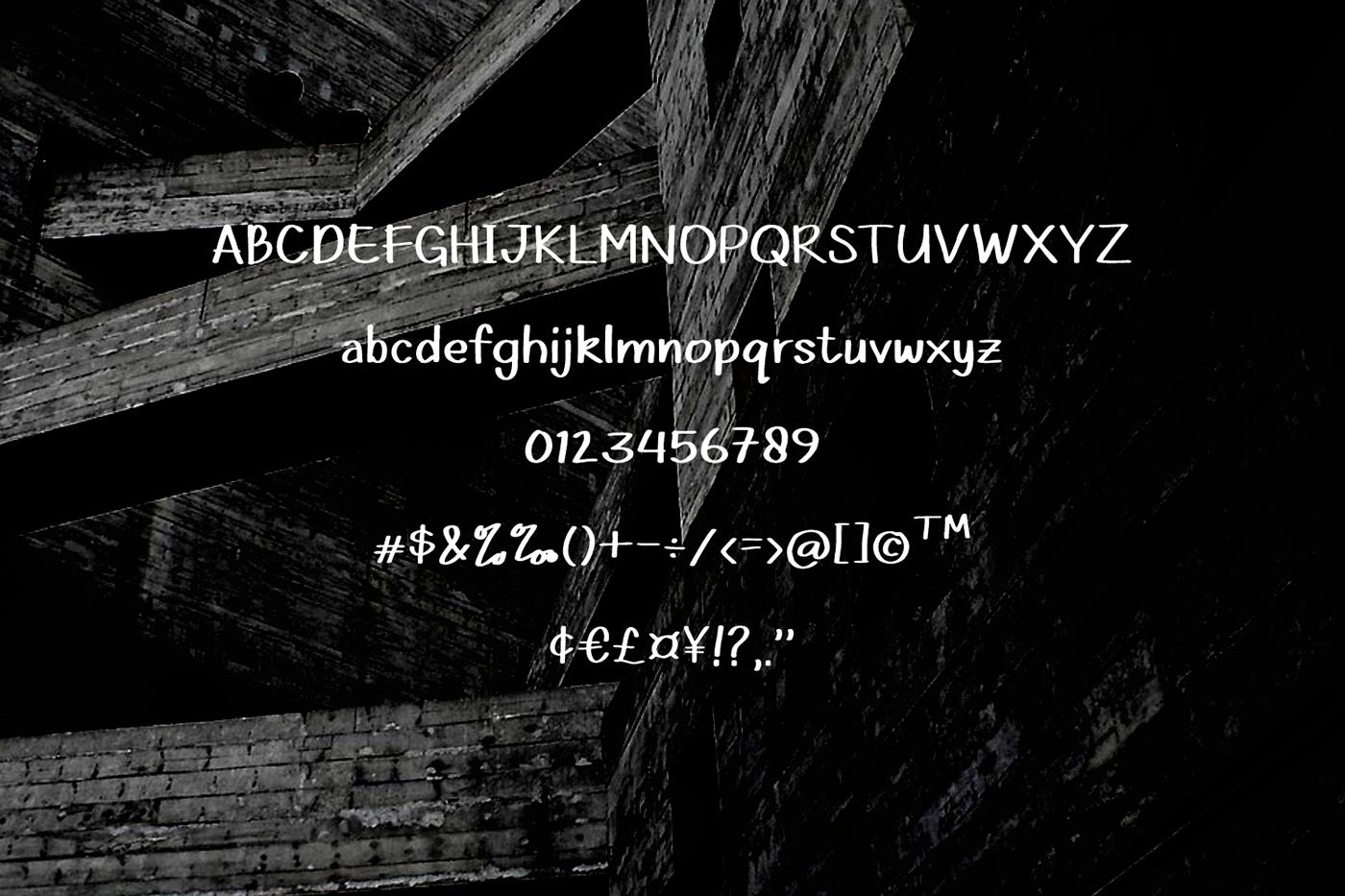 Santay Ajah Free Font - decorative-display