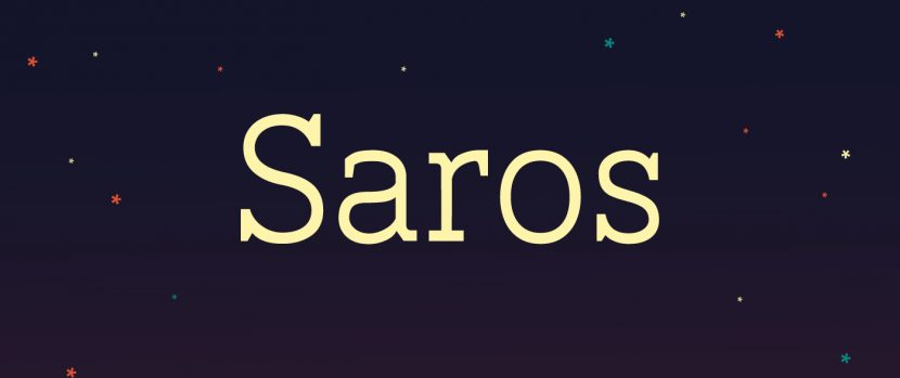 Saros Free Font - slab-serif