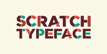 Scratch Free Typeface - decorative