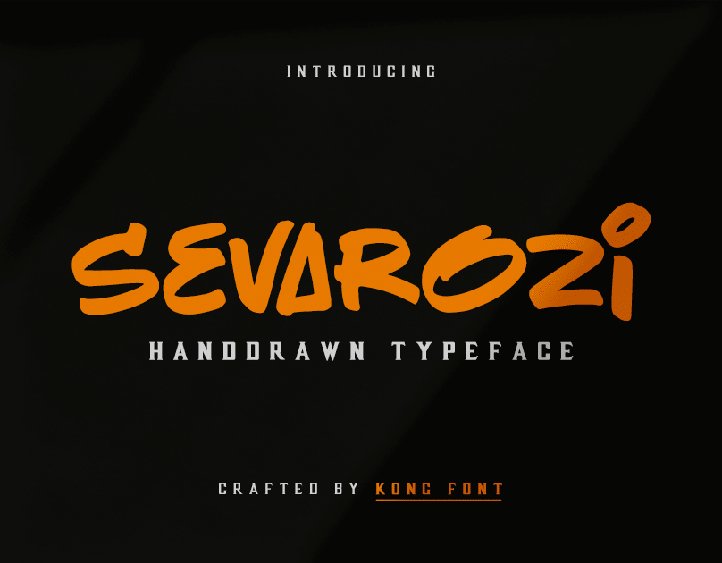 Sevarozi Free Font - script