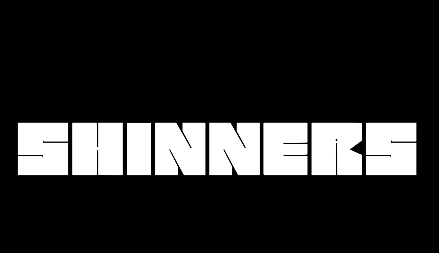 SHINNERS Free Font - decorative-display