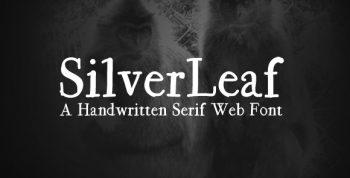 SilverLeaf Free Font - script