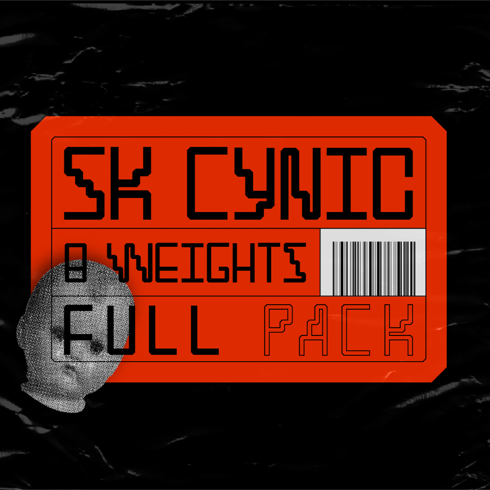 SK Cynic Free Font - decorative-display