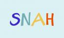 SNAH Free Font - decorative