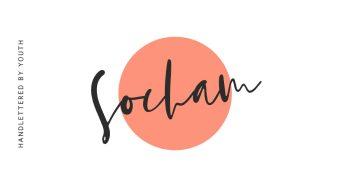 SOCHAM Free Font - script