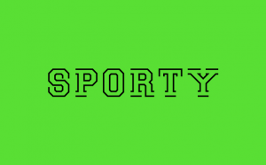 Sporty Free Font - decorative