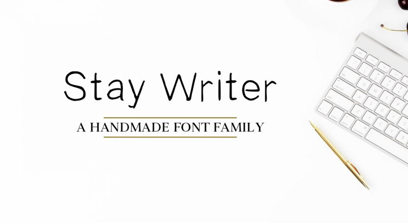 Stay Writer Free Font -