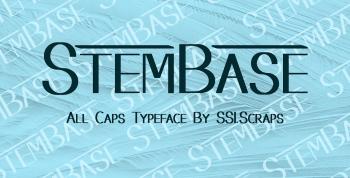 Stembase Free Font - sans-serif
